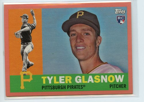 Photo of 2017 Topps Archives Peach #81 Tyler Glasnow 027/199
