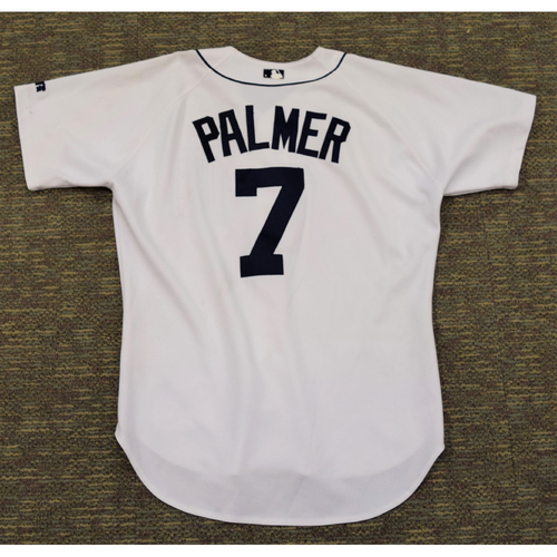 Photo of Dean Palmer Detroit Tigers #7 Home Jersey (NOT MLB AUTHENTICATED)