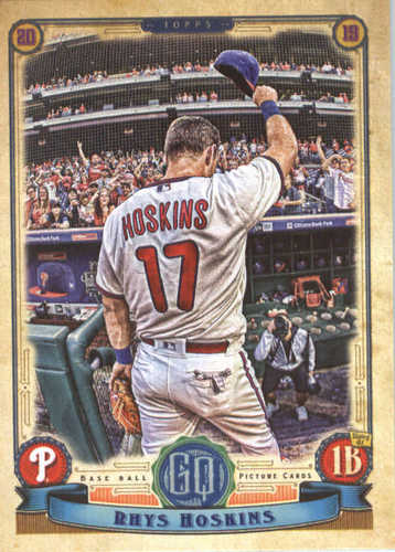 Photo of 2019 Topps Gypsy Queen #102 Rhys Hoskins