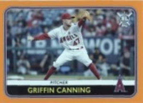 Photo of 2020 Topps Big League Orange #20 Griffin Canning