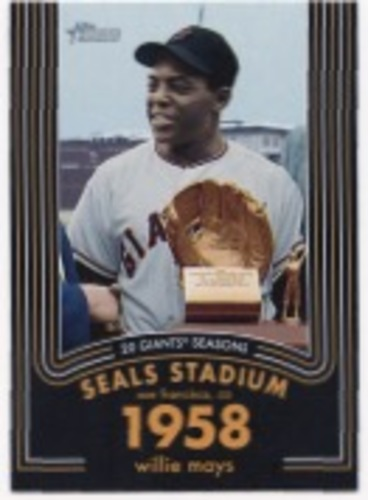 Photo of 2020 Topps Heritage 20 Gigantic Seasons #8 Willie Mays