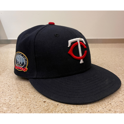 Photo of Minnesota Twins 2020 Team-Issued Navy Cap - Choose Your Number and Size!