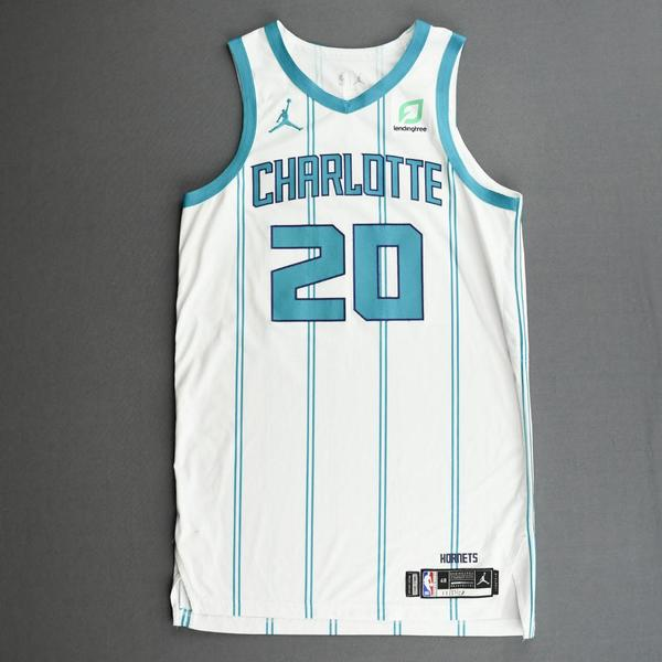 Image of Gordon Hayward - Charlotte Hornets - Kia NBA Tip-Off 2020 - Game-Worn Association Edition Jersey - Team Debut - Scored 28 Points