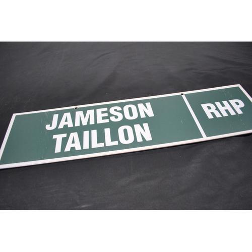 Photo of 2010 MLB Draft Nameplate - Jameson Taillon