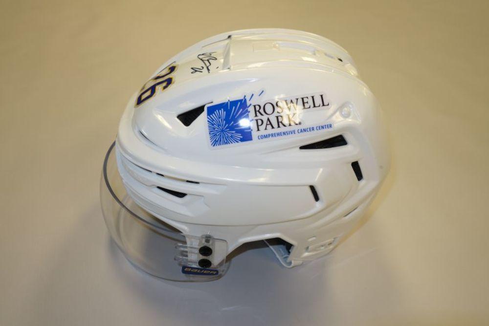 Rasmus Dahlin 2020-21 Autographed Game-Used Helmet