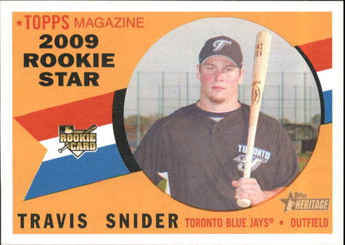 Photo of 2009 Topps Heritage #148 Travis Snider RC