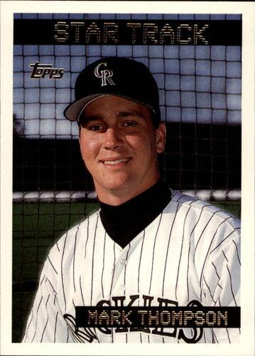 Photo of 1995 Topps #52 Mark Thompson