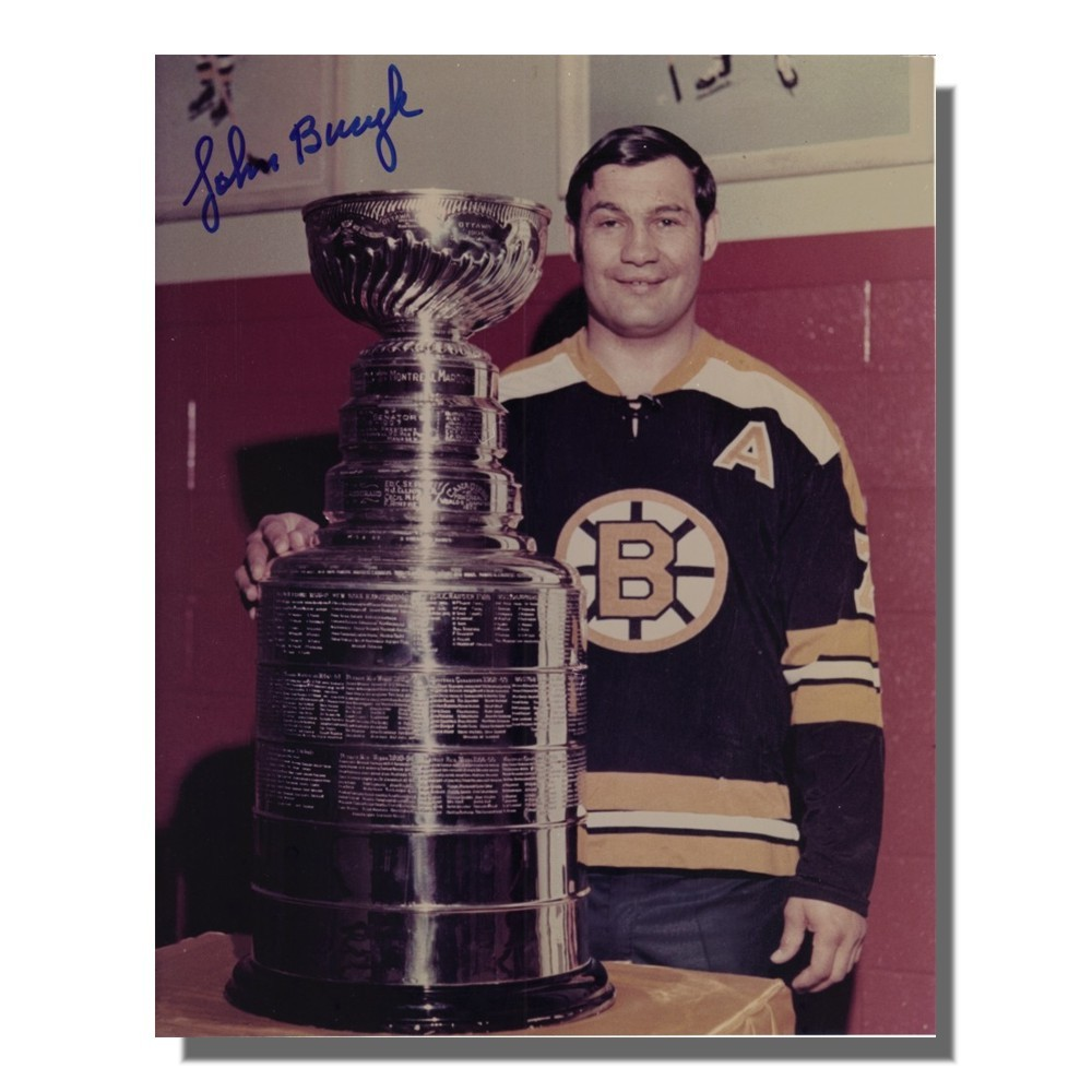 Johnny Bucyk Autographed Boston Bruins 8x10 Photo