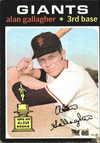 Photo of 1971 Topps #224 Alan Gallagher RC
