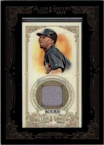 Photo of 2012 Topps Allen and Ginter Relics #MBO Michael Bourn
