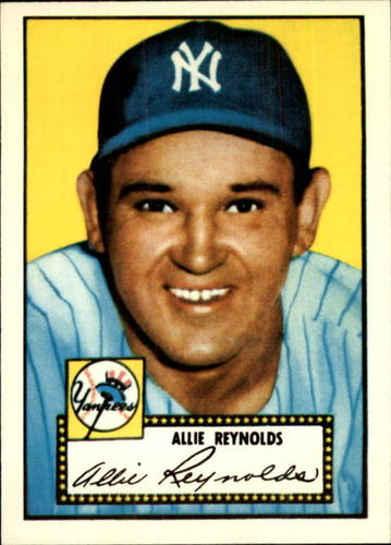 Photo of 1983 Topps 1952 Reprint #67 Allie Reynolds