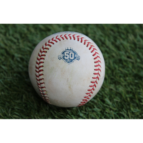 Photo of Game-Used Baseball: Chris Davis 1,095th Career Hit (BAL @ KC - 9/2/18)