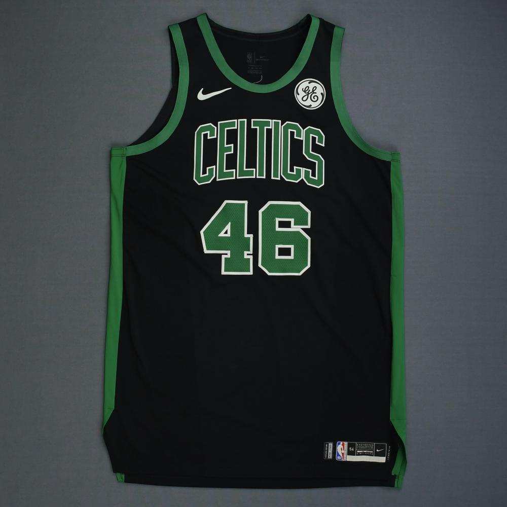 finest selection f2982 45e68 Aron Baynes - Boston Celtics - 2019 NBA Playoffs - Game-Worn ...