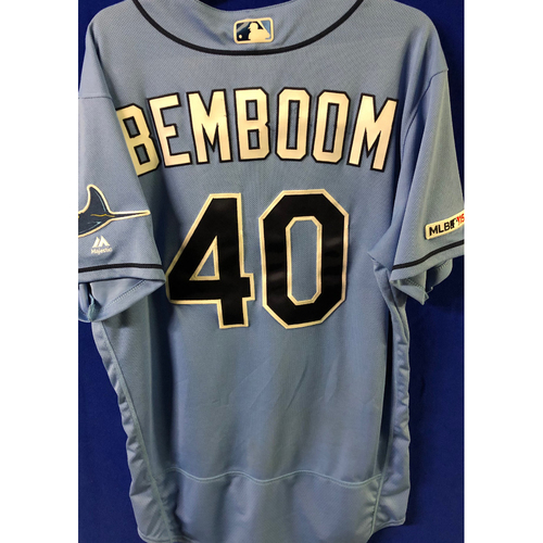 Photo of Game Used Mother's Day Jersey and Cap: Anthony Bemboom - MLB DEBUT - May 12, 2019 v NYY