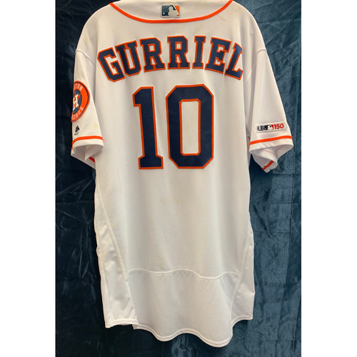 info for 3822d e7bbd Astros Auctions | 2019 Game-Used Yuli Gurriel Jersey (Sz 46)