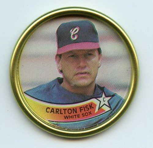 Photo of 1989 Topps Coins #40 Carlton Fisk