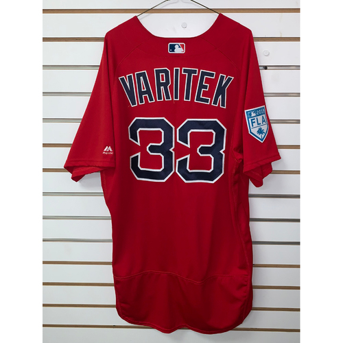 Photo of Jason Varitek Team Issued 2019 Spring Training Jersey