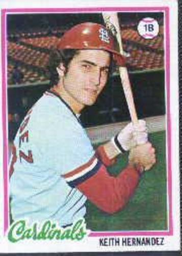Photo of 1978 Topps #143 Keith Hernandez