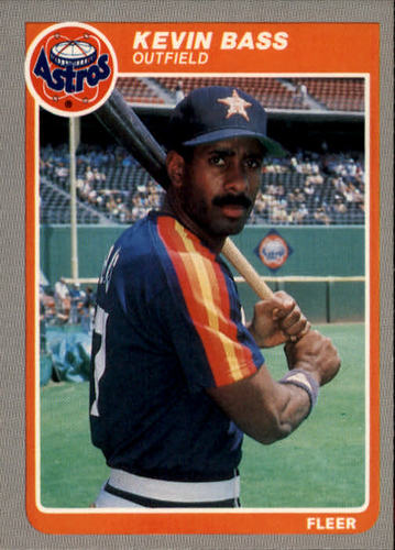 Photo of 1985 Fleer #345 Kevin Bass