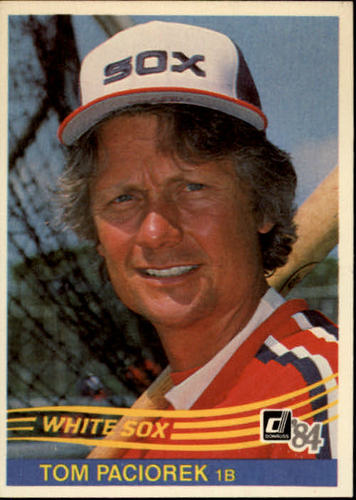 Photo of 1984 Donruss #282 Tom Paciorek