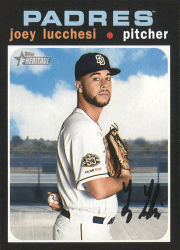 Photo of 2020 Topps Heritage #109 Joey Lucchesi