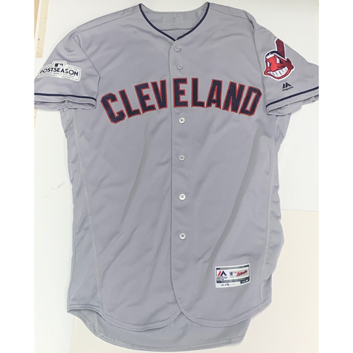 Photo of Brandon Guyer Team Issued 2017 Postseason Road Jersey