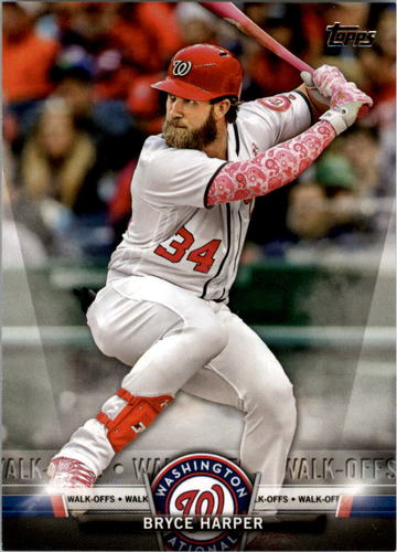 Photo of 2018 Topps Salute Series 2 #S1 Bryce Harper