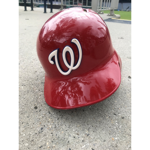 Photo of Game-Used Ryan Zimmerman Helmet