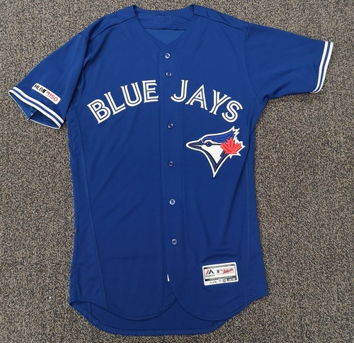Photo of Authenticated Team Issued Blue 2019 Jersey - Features MLB 150 Patch on Sleeve - - Choose your size!