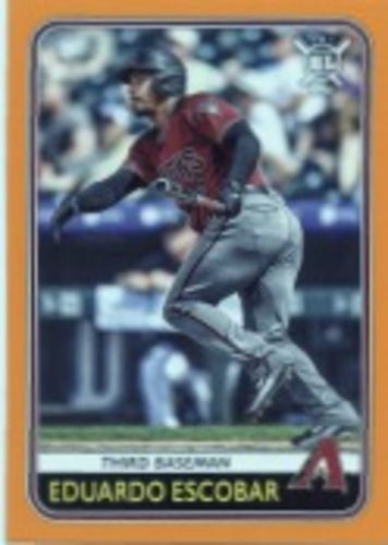 Photo of 2020 Topps Big League Orange #22 Eduardo Escobar