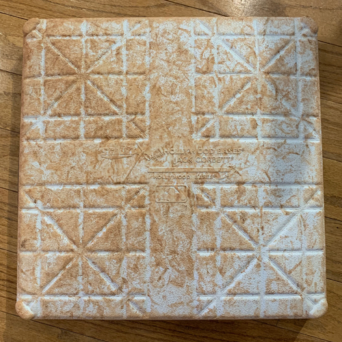Photo of Boston Red Sox Game Used 2021 2nd Base - Used vs Tigers May 4th, 5th and 6th, and vs Athletics May 11th, 12th and 13th - Used for Full Games