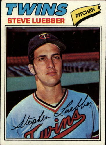Photo of 1977 Topps #457 Steve Luebber