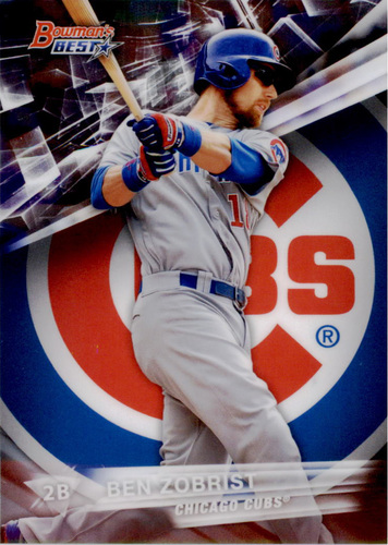Photo of 2016 Bowman's Best #28 Ben Zobrist