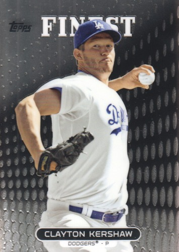 Photo of 2013 Finest #10 Clayton Kershaw