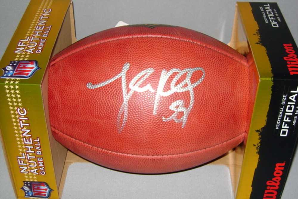 PANTHERS - LUKE KUECHLY SIGNED AUTHENTIC FOOTBALL