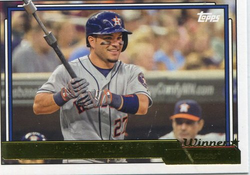 Photo of 2017 Topps Archives Gold Winner #293 Jose Altuve