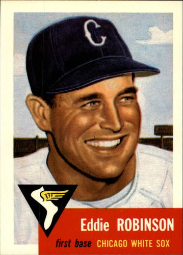 Photo of 1991 Topps Archives 1953 #73 Eddie Robinson