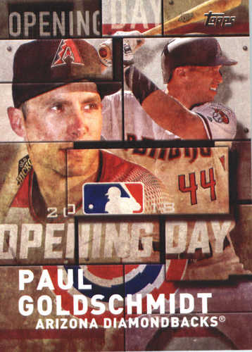 Photo of 2018 Topps Opening Day Insert #OD30 Paul Goldschmidt
