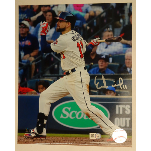 Photo of Ender Inciarte Autographed 8 x 10 Photo