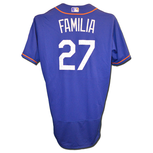 Photo of Jeurys Familia #27 - Team Issued Spring Training Jersey - 2018 Spring Training