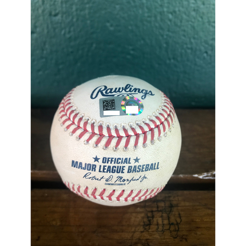 Photo of Cardinals Authentics: Game-Used Baseball Pitched by Carlos Martinez to Kyle Schwarber *Single RBI*