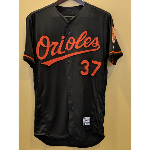 Photo of Dylan Bundy - Black Alternate Jersey: Team-Issued (46)