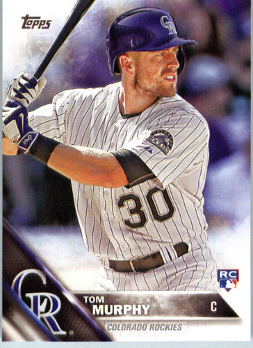 Photo of 2016 Topps #446 Tom Murphy RC