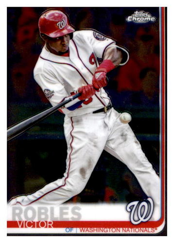 Photo of 2019 Topps Chrome #33 Victor Robles