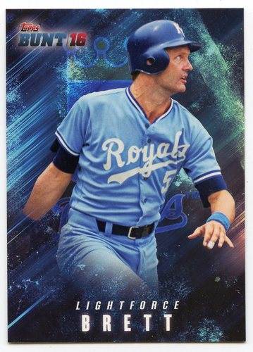 Photo of 2016 Topps Bunt Light Force #LF5 George Brett