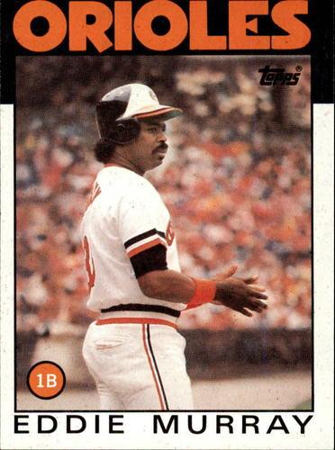 Photo of 1986 Topps #30 Eddie Murray