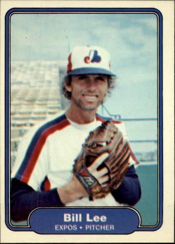 Photo of 1982 Fleer #194 Bill Lee