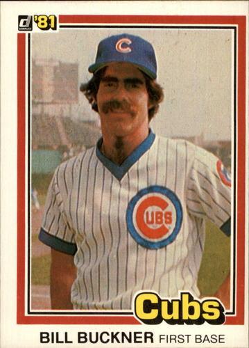 Photo of 1981 Donruss #482 Bill Buckner
