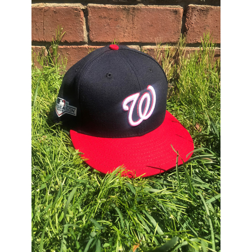 Photo of Trea Turner Game-Used Cap Worn 2019 NLCS