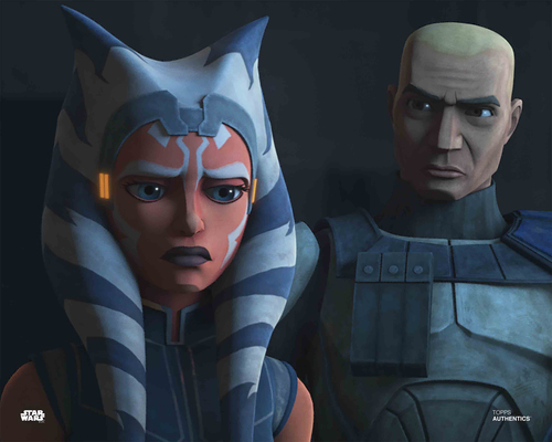 Ahsoka Tano and Captain Rex